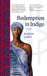 US cover, Redemption in Indigo