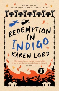 UK cover, Redemption in Indigo